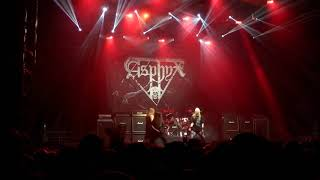 ASPHYX- Forerunners Of The Apocalypse live- Metalmania 2018 -Spodek Katowice