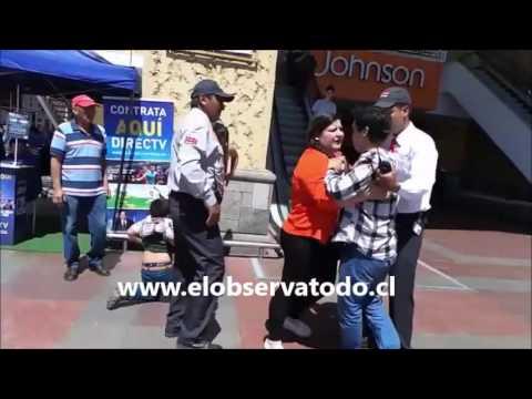 VIDEO: Hombre Golpea a Mujer en Mall de La Serena