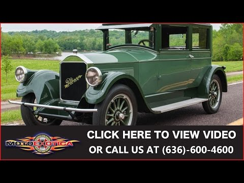 1925 Pierce-Arrow Model 80 || SOLD