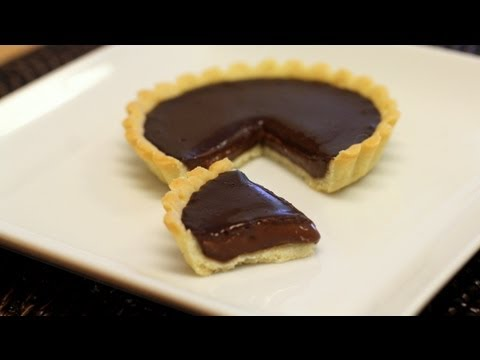 Tarte Au Chocolat (Chocolate Tart) Recipe - Valentine's Day Special! - CookingWithAlia - Episode 229