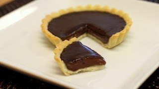 Tarte Au Chocolat (chocolate Tart) Recipe - Valentine's Day Special! - Cookingwithalia - Episode 229