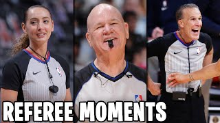 NBA REFEREE FUNNY MOMENTS