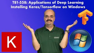 Installing TensorFlow, Keras, and Python in Windows