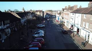 West Sussex by Air - East Grinstead 4K