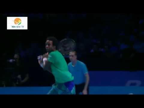 ATPTOP8 - Gael Monfils taškas prieš Dominic Thiem