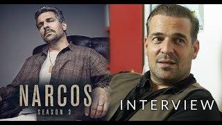 INTERVIEW - Narcos Season 3 - Pêpê Rapazote (Chepe Santacruz)