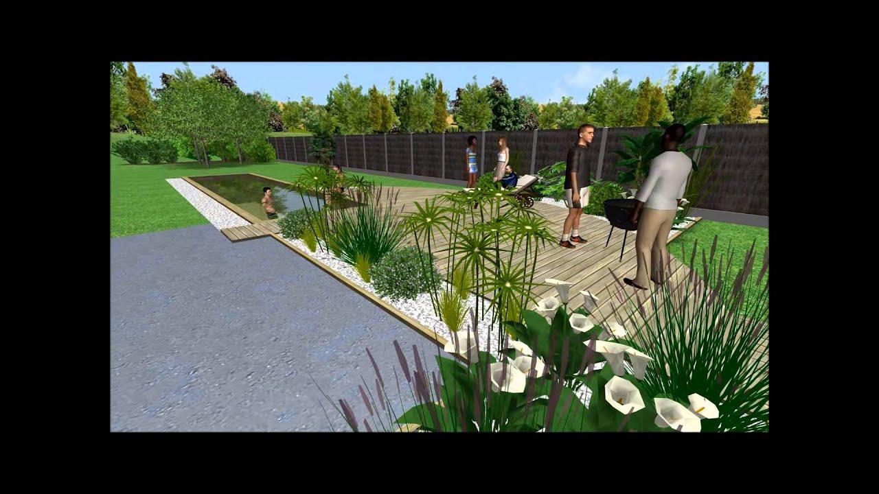 Piscine bois nouveau projet youtube for Projet piscine