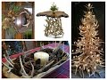 Antler Decorations Ideas - Rustic Home Decor