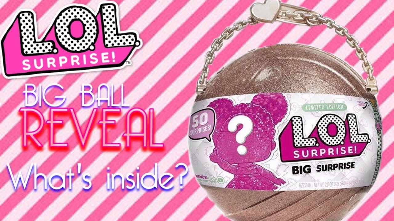 Brand New LOL BIG SURPRISE Doll Limited Edition 50 Surprises