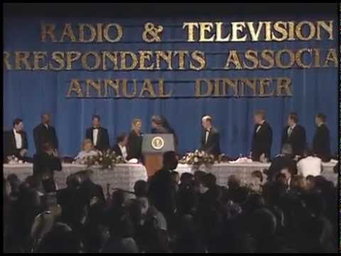Pres. Clinton at Radio and TV Correspondents Assc. Dinner (1997)
