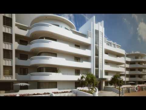 Art Deco Apartments CGI Concept