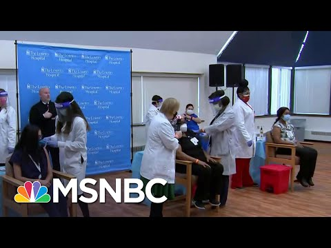 Chicago Administers First Doses Of Pfizer Covid Vaccine At West Side Hospital | Craig Melvin | MSNBC