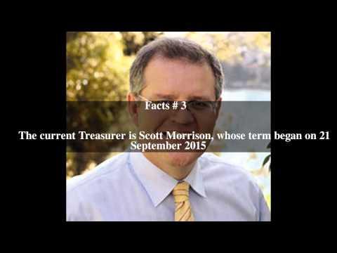 Treasurer of Australia Top # 5 Facts
