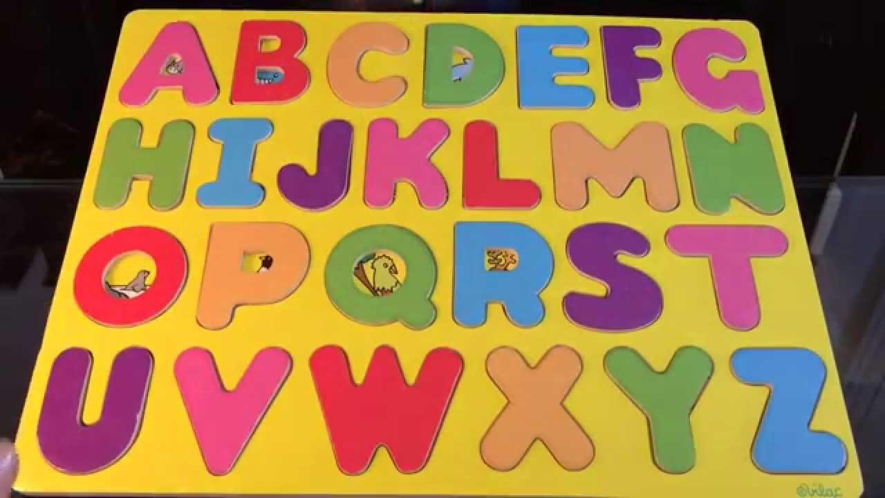 Préférence Apprendre l'alphabet en français, en s'amusant avec les animaux et  EB86