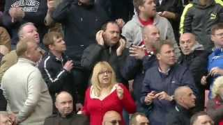 Man United Players Rooney and Sir Alex Ferguson Reaction Before and After Aguero Goal