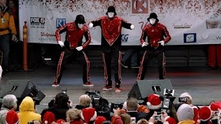 Jabbawockeez at Las Vegas Santa Run 2013