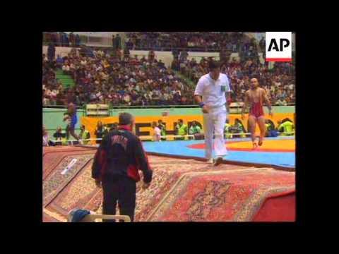 Iran - Wrestling competition