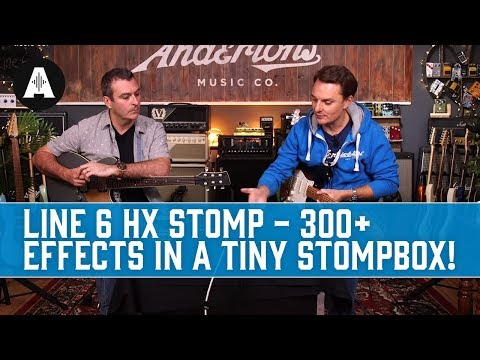 Line 6 HX stomp - 300+ Helix effects in a tiny stomp box!