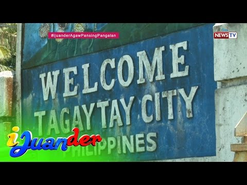 iJuander: Discovering the etymology of Tagaytay