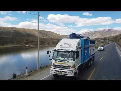 Viajando Por La Carretera Central del Peru Lima - La Oroya - San Pedro de Cajas