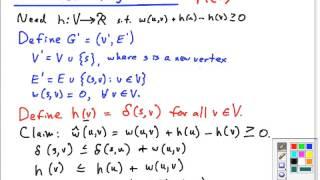 Topic 19 B Johnsons Algorithm