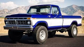 1977 F250 Highboy, 400HP New Rebuilt 400M, 4 SPEED, All New Restored Paint, Interior, and Trim