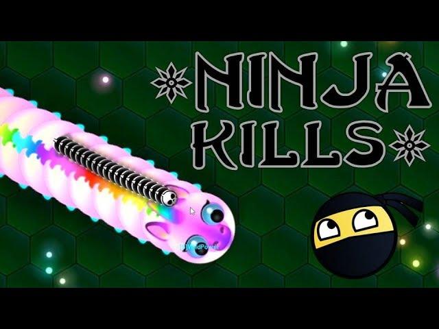 Wormax.io Best Kills #46 + Ninja Kills