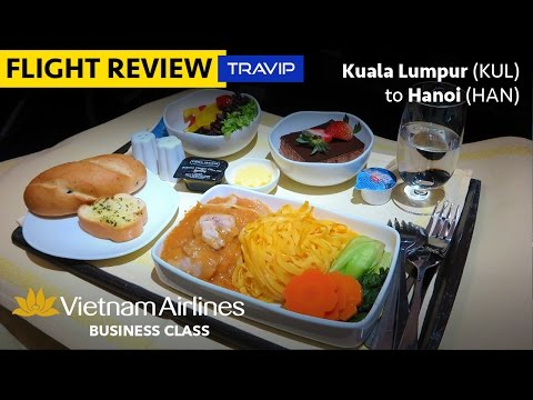Vietnam Airlines Business Class: Kuala Lumpur to Hanoi | Travip Flight Review