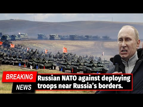 NATO SEND TROOPS IN THE RUSSIAN BORDER! Russia warns NATO against deploying troops near its Border