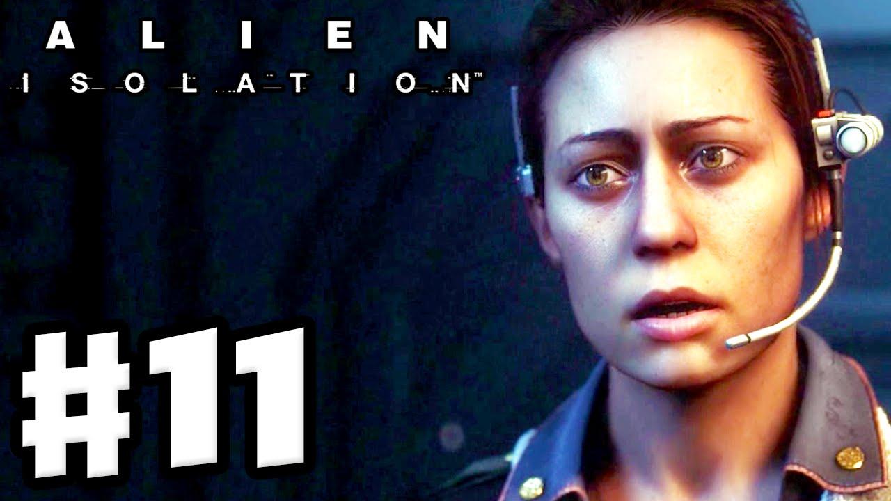 Repeat Alien: Isolation - Gameplay Walkthrough Part 11 - Setting