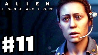 Alien: Isolation - Gameplay Walkthrough Part 11 - Setting Traps! (PC Gameplay with Facecam)
