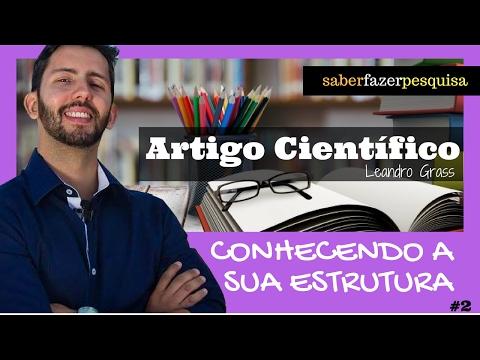 Видео Estrutura do artigo cientifico