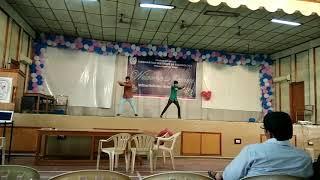 PVP Siddhartha Fresher's Day 2k17 ECE ...Harish and fayaz performance