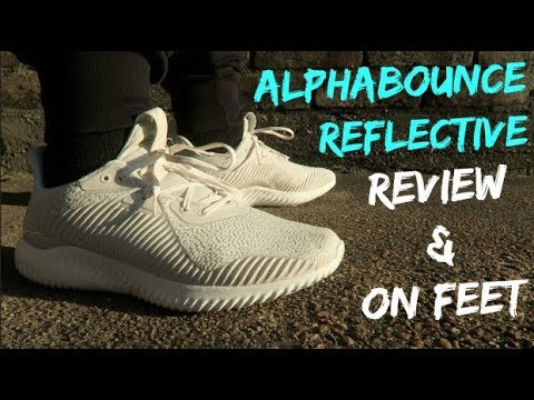 best service 989a3 ad903 ADIDAS ALPHABOUNCE REFLECTIVE HPC AMS REVIEW AND ON FEET!