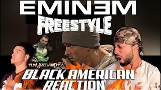 BLACK AMERICAN FIRST TIME HEARING | Eminem biggest ever freestyle in the world!!!!