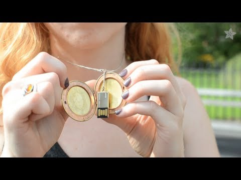 USB Locket DIY