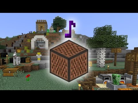 OMFG - Hello - Minecraft Note Block Cover