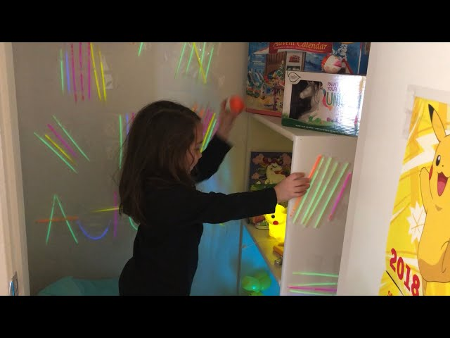 SURPRISING A 5 YEAR OLD WITH A PIKACHU CLOSET!
