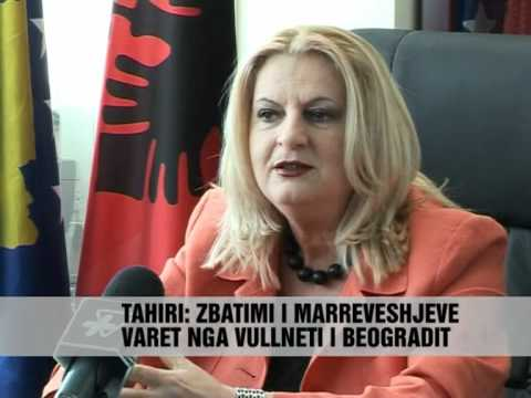Edita Tahiri: Topi, ne fushën e Serbisë - Vizion Plus - News - Lajme