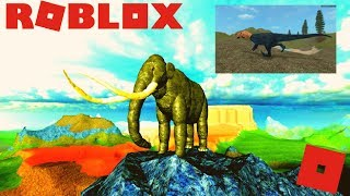 Roblox Cenozoic Survival - New Ice Age Game! + Monolopho Update (P.E)