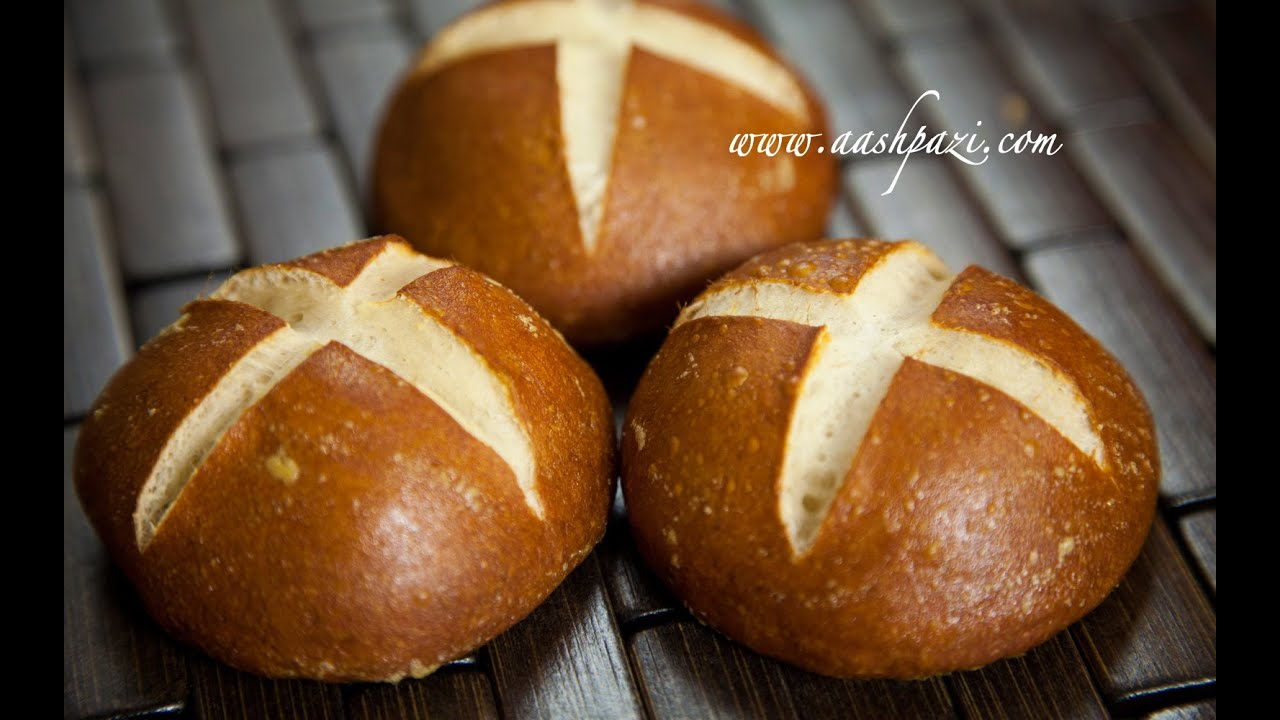 Pretzel Rolls Recipe Homemade