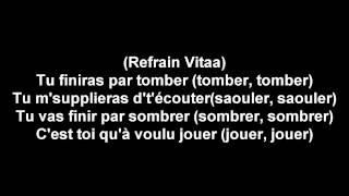 Vitaa - Game Over feat. Maître Gims (Parole)