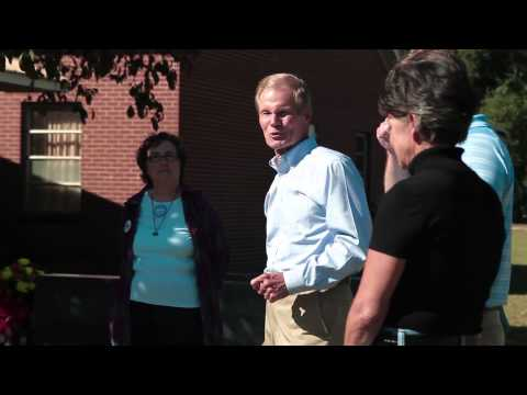 U.S. Sen. Bill Nelson in Chipley