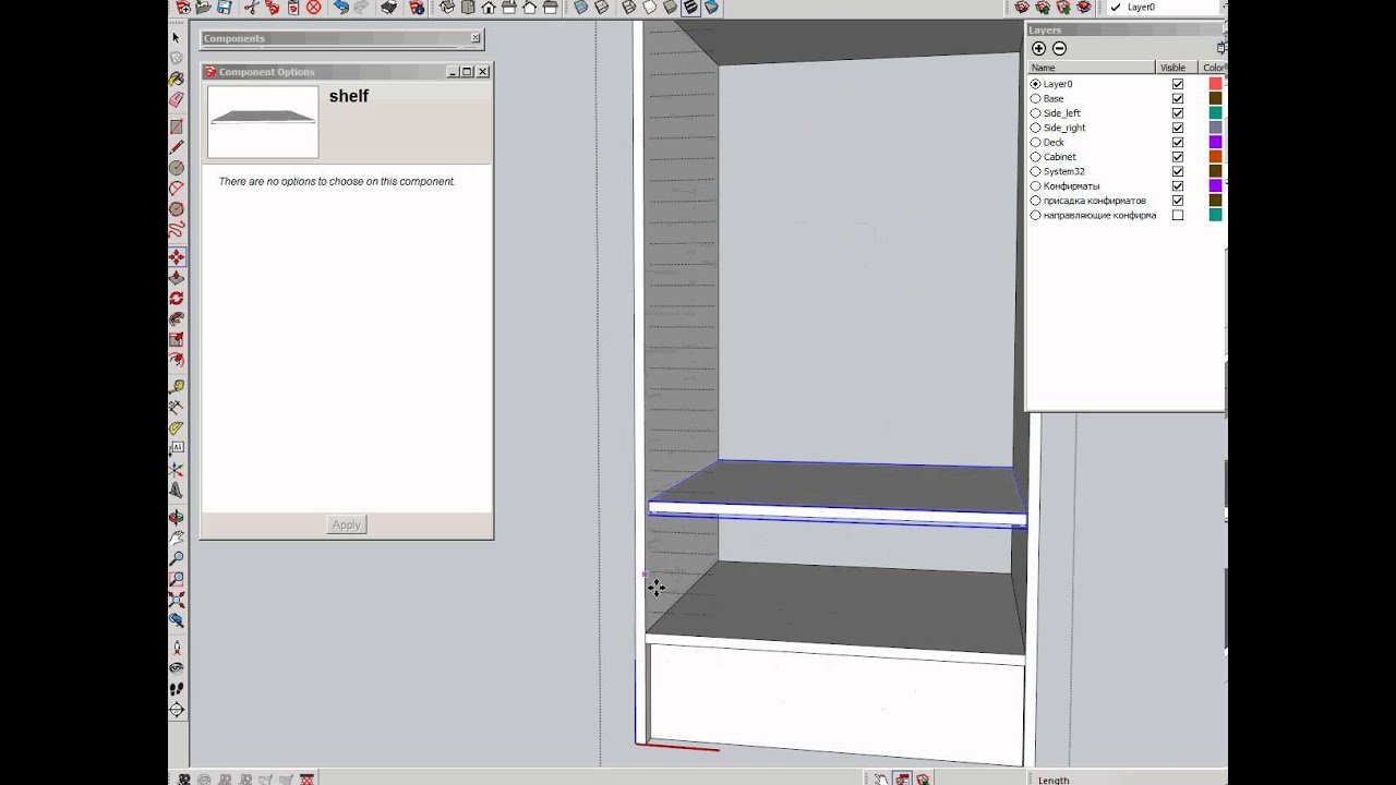 Sketchup Dynamic Cabinets Mf Cabinets