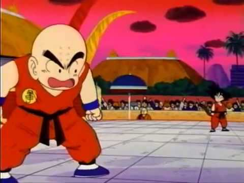 Goku vs  Krillin one of the best fight of dragonball