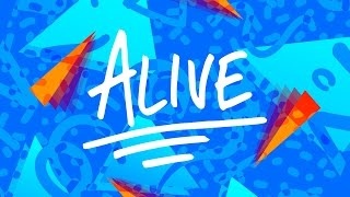 hillsong young free   alive lyric video