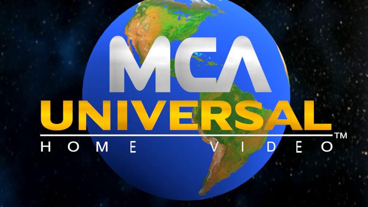 mca universal home video logo youtube rh youtube com WB Warner Home Video Logo mca universal home video logo vhs