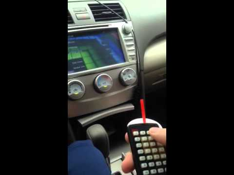 2014 Toyota Corolla Touch Screen Calibration