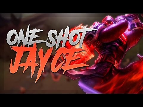 FULL DAMAGE JAYCE 420+ AD ONE SHOTS! - Troll Builds That Work! #9