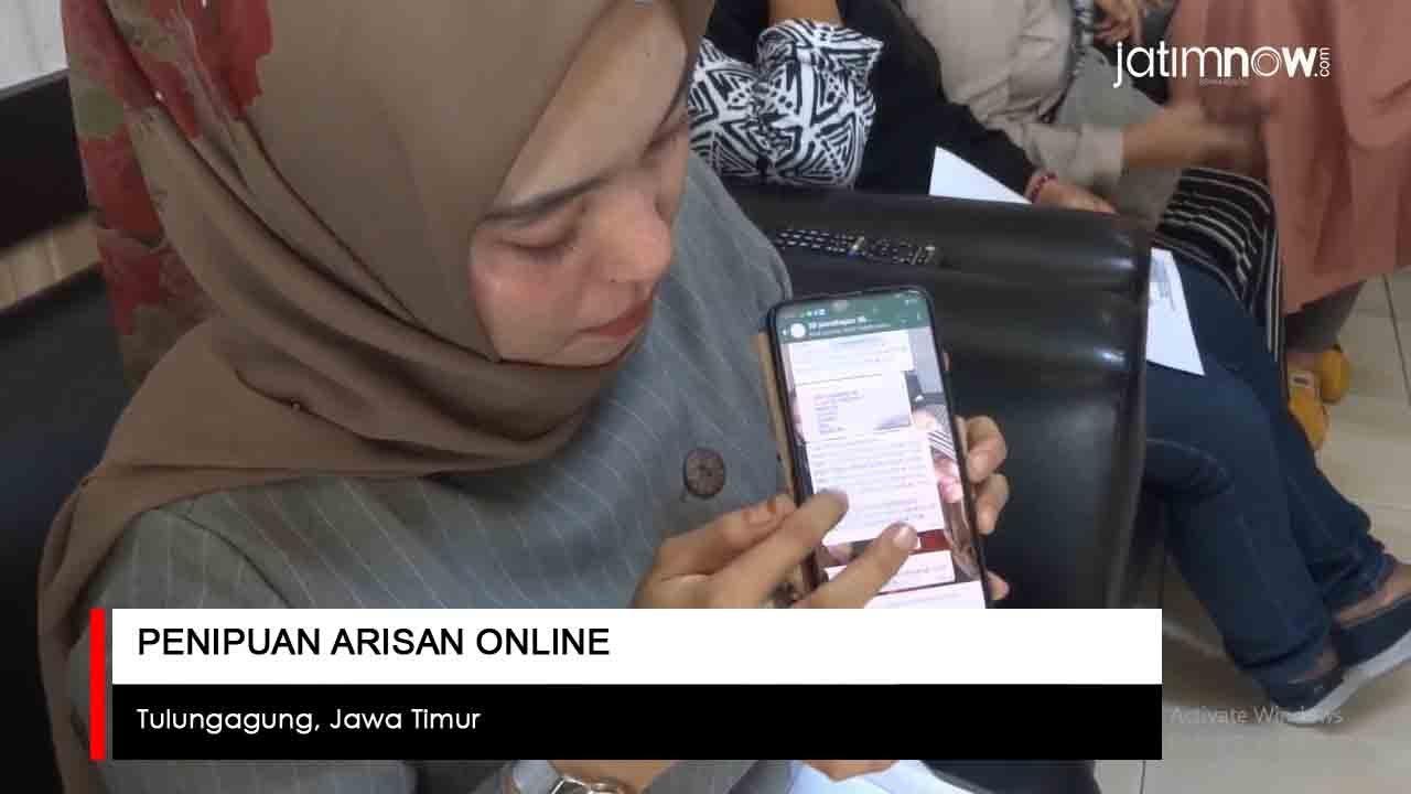 Video Penipuan Arisan Online